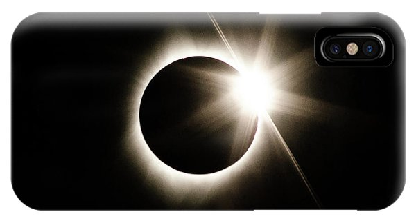The Edge Of Totality IPhone Case