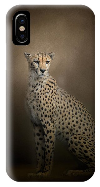 The Elegant Cheetah IPhone Case