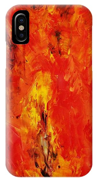 The Elements Fire #1 IPhone Case