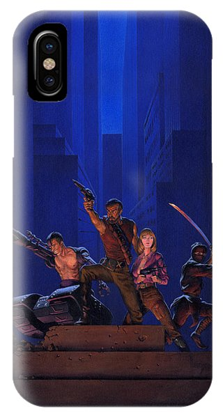 Atomic iPhone Case - The Eliminators by Richard Hescox