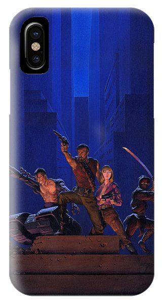 Knight iPhone Case - The Eliminators by Richard Hescox