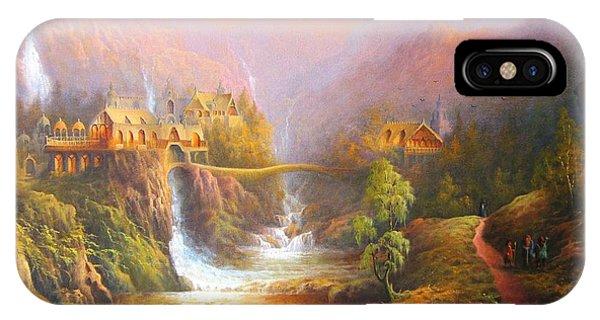 The Elves Kingdom IPhone Case