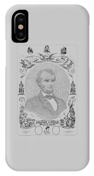 The Emancipation Proclamation IPhone Case