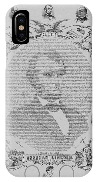 African American iPhone Case - The Emancipation Proclamation by War Is Hell Store