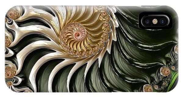 The Emerald Queen's Nautilus IPhone Case