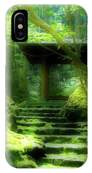 The Emerald Stairs IPhone Case