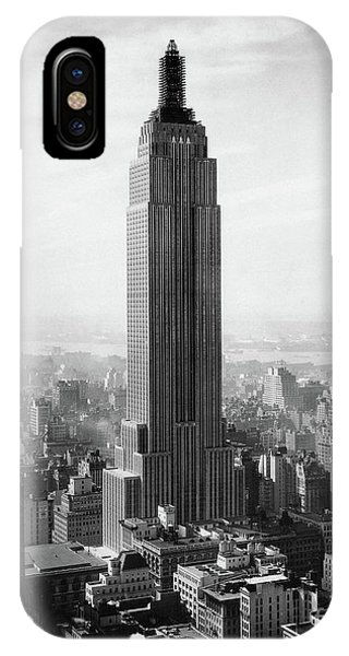 The Empire State Building Under Construction IPhone Case