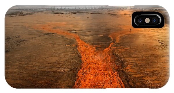 The Enchantment Of Grand Prismatic Spring IPhone Case