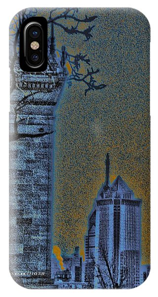 The Encroachment Upon Art IPhone Case