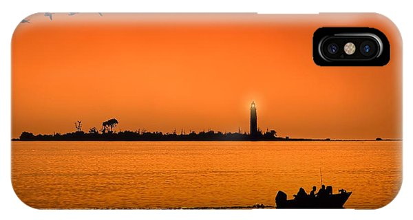 The End Of A Wonderful Day. IPhone Case