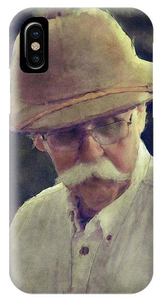 The English Gentleman IPhone Case