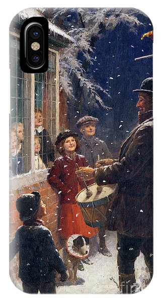 Drum iPhone Case - The Entertainer  by Percy Tarrant