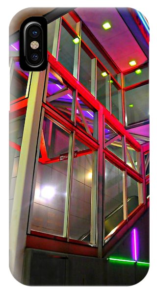 Stamford iPhone Case - The Escalator by Diana Angstadt