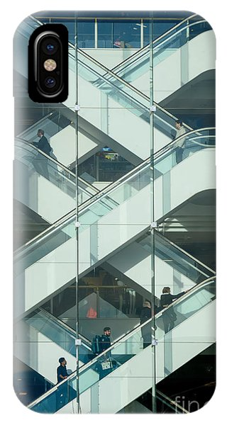 The Escalators IPhone Case