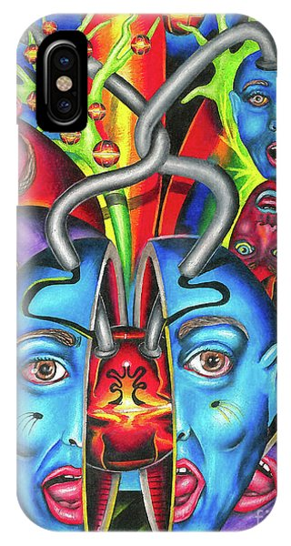 The Esoteric Force Of Molecular Mentality IPhone Case