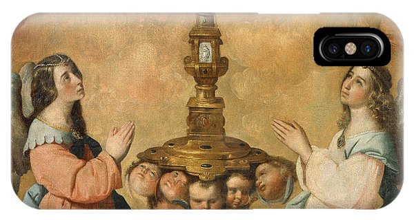 Ceremony iPhone Case - The Eucharist by Francisco de Zurbaran