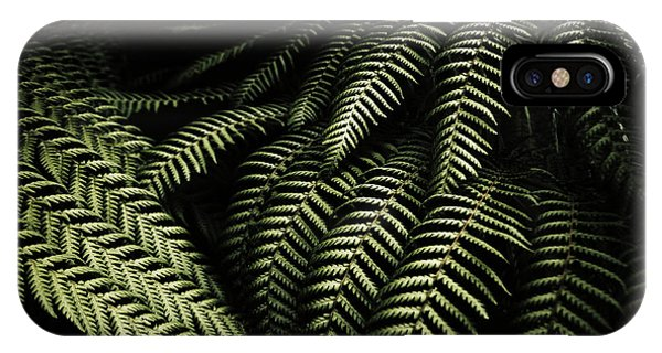 Detail iPhone Case - The Exotic Dark Jungle by Jorgo Photography - Wall Art Gallery