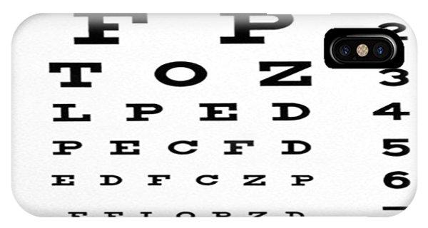 The Eye Chart IPhone Case
