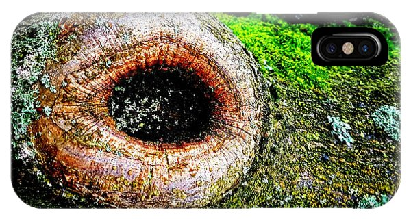 The Eye In The Tree IPhone Case