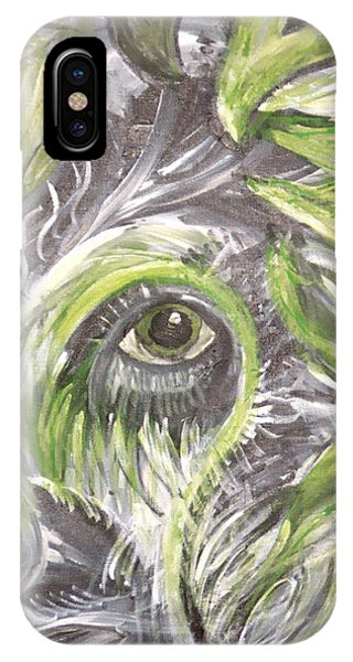 The Eye Phone Case by Jessica Kauffman