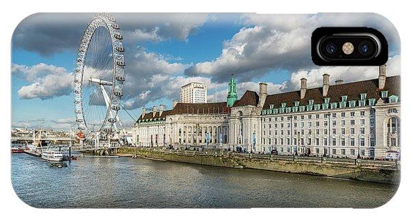 London Eye iPhone Case - The Eye London by Adrian Evans