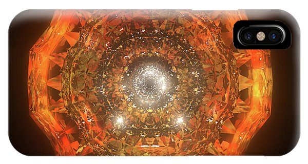iPhone Case - The Eye Of Cyma - Fire And Ice - Frame 160 by Jules Gompertz
