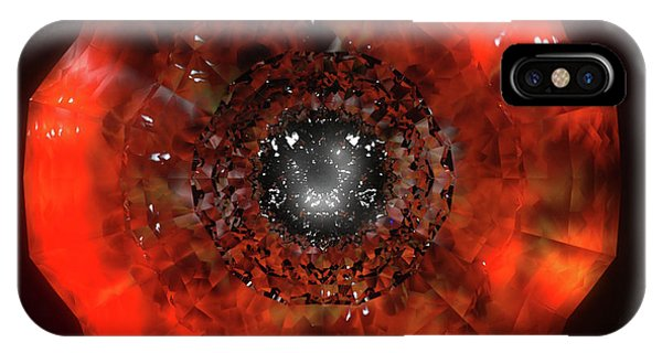 The Eye Of Cyma - Fire And Ice - Frame 40 IPhone Case