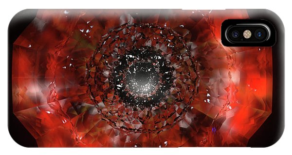 iPhone Case - The Eye Of Cyma - Fire And Ice - Frame 45 by Jules Gompertz