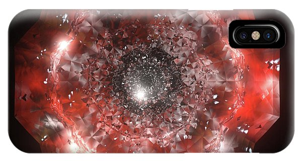 iPhone Case - The Eye Of Cyma - Fire And Ice - Frame 50 by Jules Gompertz