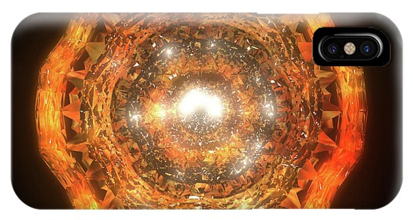iPhone Case - The Eye Of Cyma - Fire And Ice - Frame 7 by Jules Gompertz