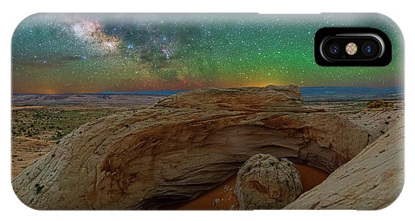 The Eye Of Earth IPhone Case