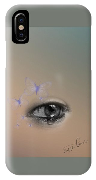 The Eyes Don't Lie IPhone Case