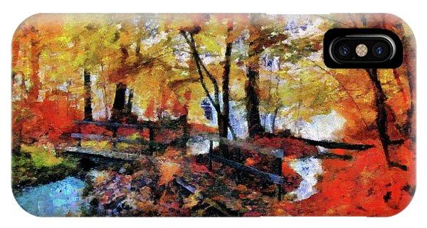 The Failing Colors Of Autumn IPhone Case