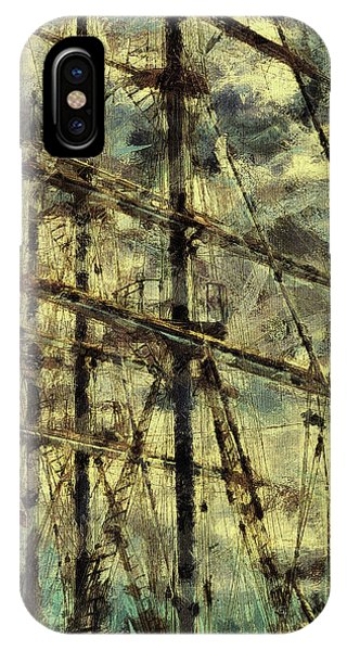Dorset iPhone Case - The Fair Breeze Blew, The White Foam Flew by Leigh Kemp