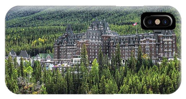 The Fairmont Banff Springs IPhone Case