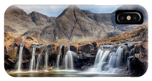 Fairy Glen iPhone Case - The Fairy Pools - Isle Of Skye 3 by Grant Glendinning