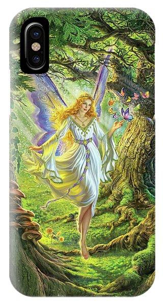 Fairy iPhone Case - The Fairy Queen by Mark Fredrickson