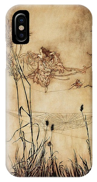 The Fairy's Tightrope From Peter Pan In Kensington Gardens IPhone Case