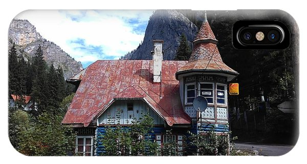 The Fairy Tale House  IPhone Case