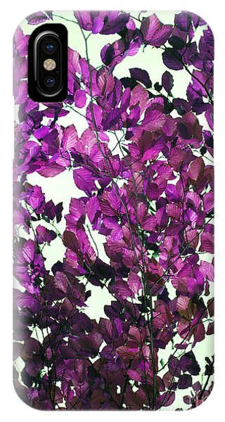 The Fall - Intense Fuchsia IPhone Case