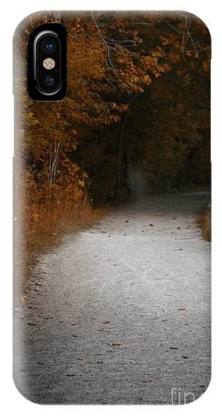 iPhone Case - The Fall Path by Margie Hurwich