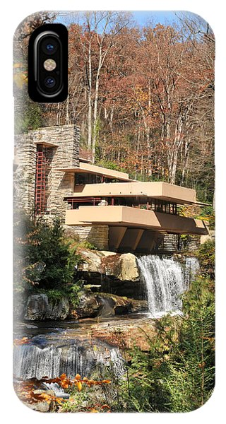 Adobe iPhone Case - The Fallingwater by Edwin Verin