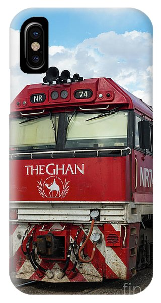 The Famed Ghan Train  IPhone Case