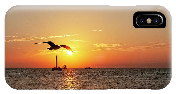The Famous Key West Sunset  IPhone Case