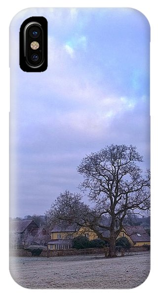 The Farm In Winter IPhone Case