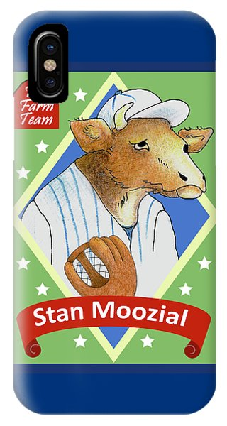 The Farm Team - Stan Moozial IPhone Case
