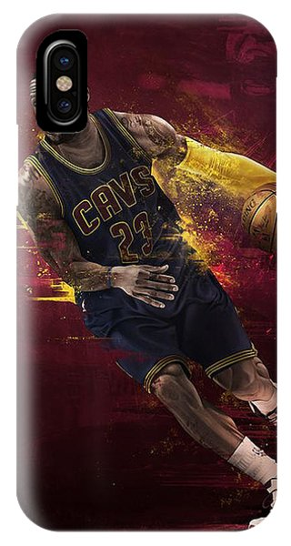 Kyrie Irving iPhone Case - The Fast And Furious by Jeric Barnutz