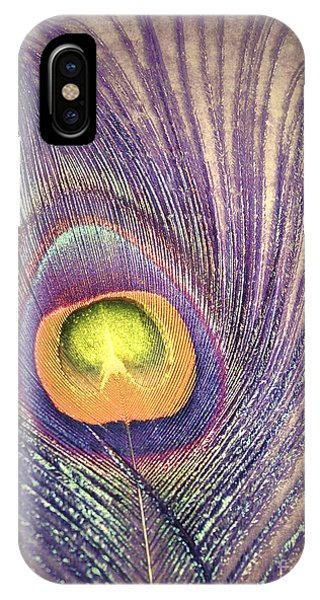 The Feather In Colour IPhone Case
