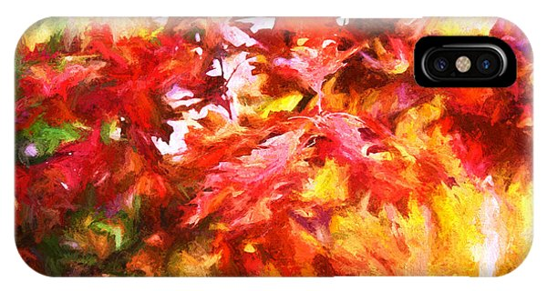 The Feel Of Autumn IPhone Case