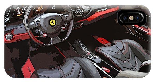 The Ferrari 488 2016 IPhone Case